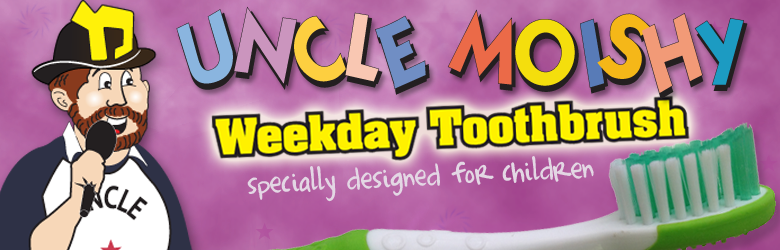 Uncle Moishy Weekday Toothbrush
