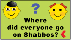 Where did everyone go on Shabbos? Use the Magnetic Shabbos Message Board to keep track. Find out more...