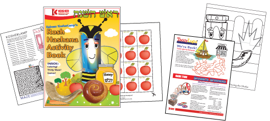 rosh hashana activity book for kids - Kids Activities Book