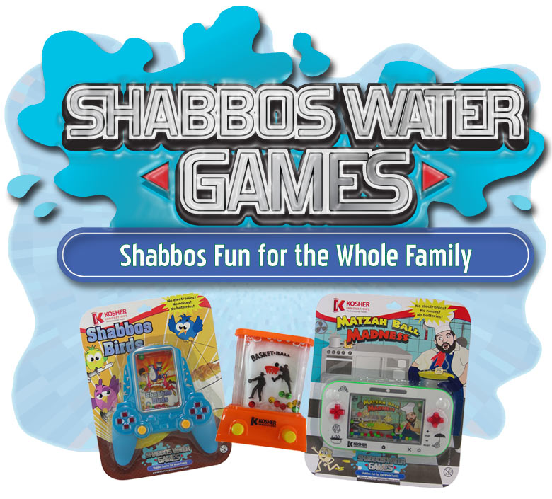Shabbos Water Games!
